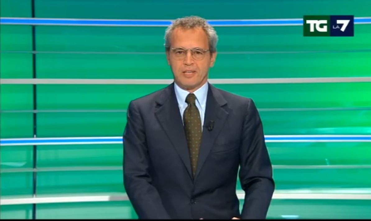 Mentana sfida Enrico Letta