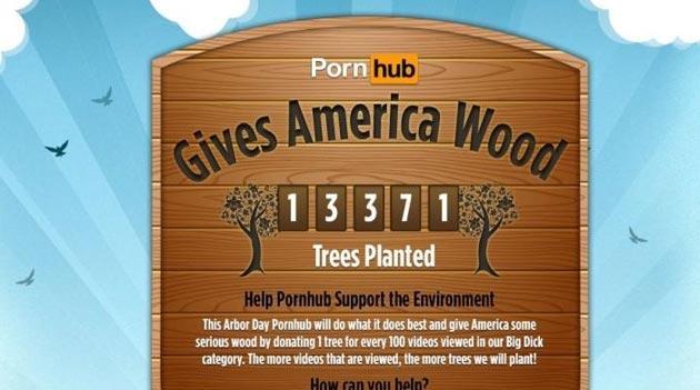 Un albero per ogni 10 video hot cliccati: l'iniziativa a luci rosse e verdi