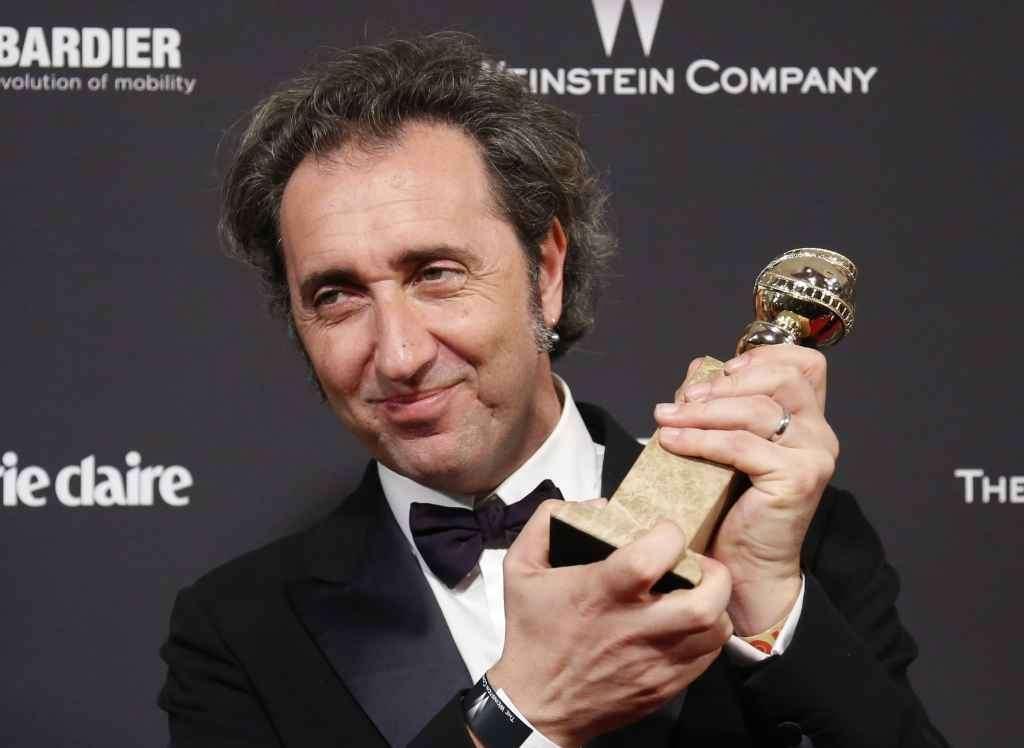 Paolo Sorrentino vince il Golden Globe