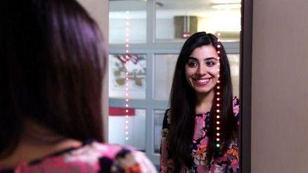Specchio per selfie: sorridi e sei subito online