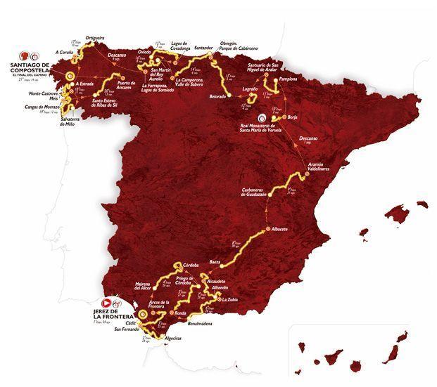 Vuelta di Spagna 2014: percorso, tappe e salite
