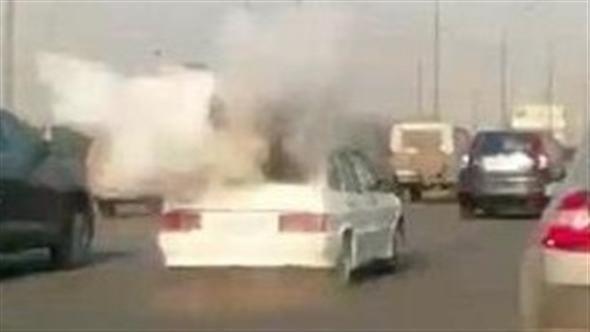 Auto GPL esplode in Russia in pieno traffico come una bomba