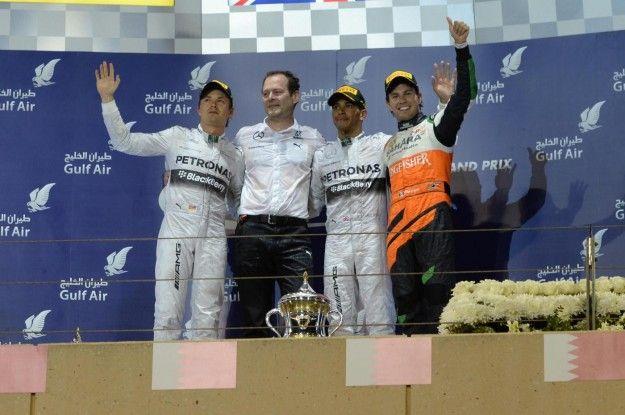 GP Bahrain F1 2014: trionfa Hamilton, Ferrari a picco