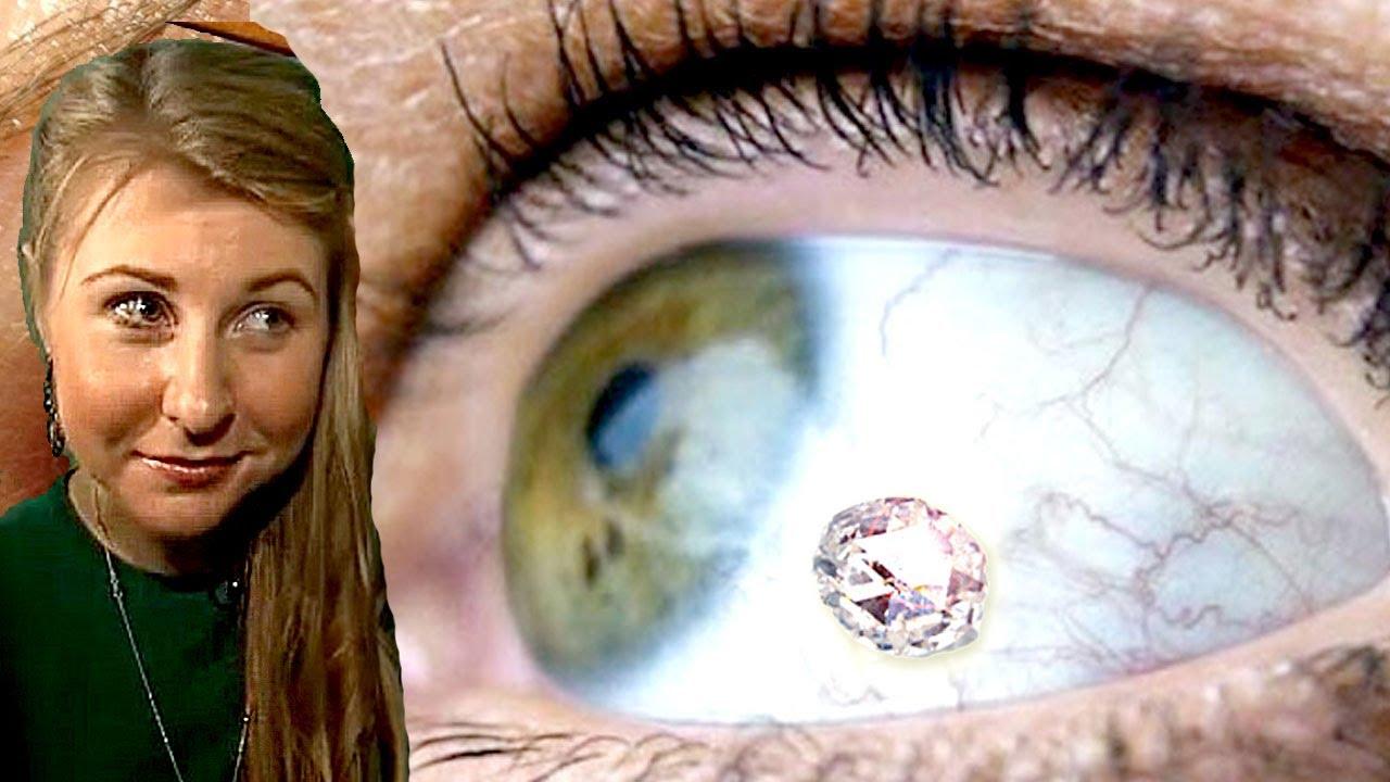 Lucy Luckayanko, la ragazza con un gioiello nell'occhio