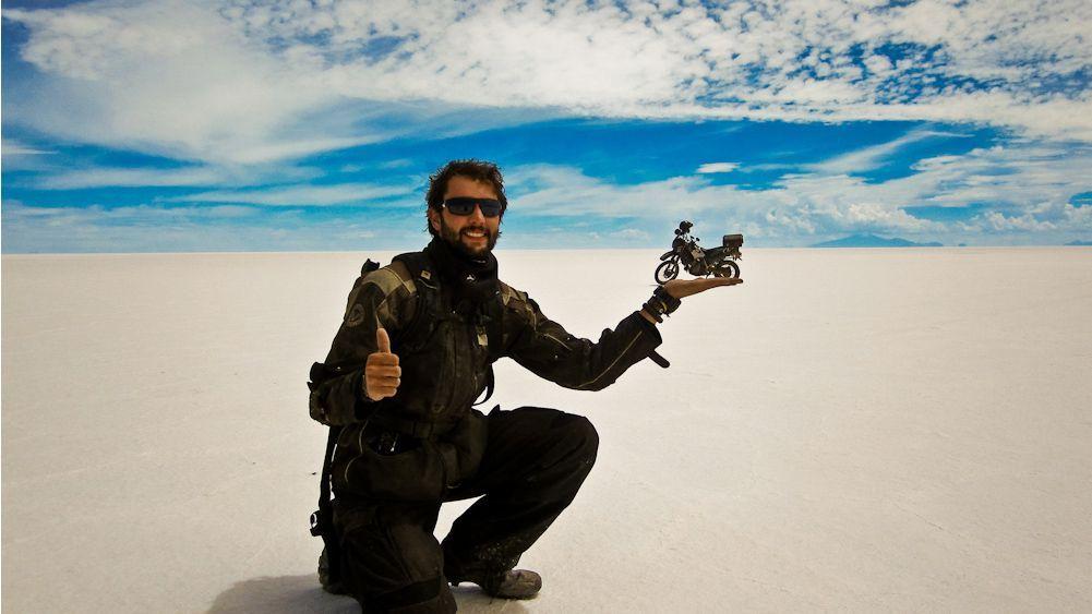 Il video selfie più epico: due anni in giro per il mondo