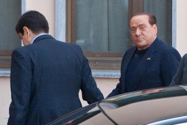 Berlusconi ai servizi sociali: primo giorno di attività per il Cavaliere