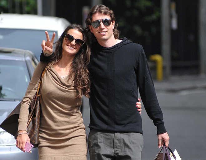 Cristina De Pin e Riccardo Montolivo