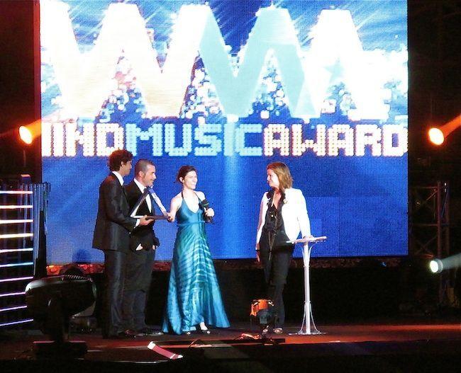 Elisa ai Wind Music Awards 2013