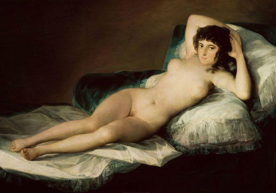 I 10 nudi femminili più belli dell'arte