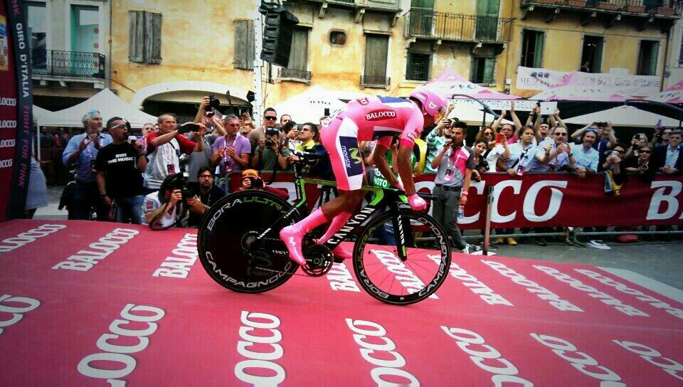 Giro d'Italia 2014, tappa 19: la cronoscalata a Quintana, ma che Aru!