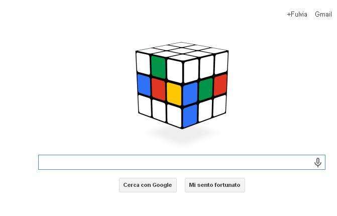 Google doodle: il cubo di Rubik interattivo per i 40 anni del 'gioco'