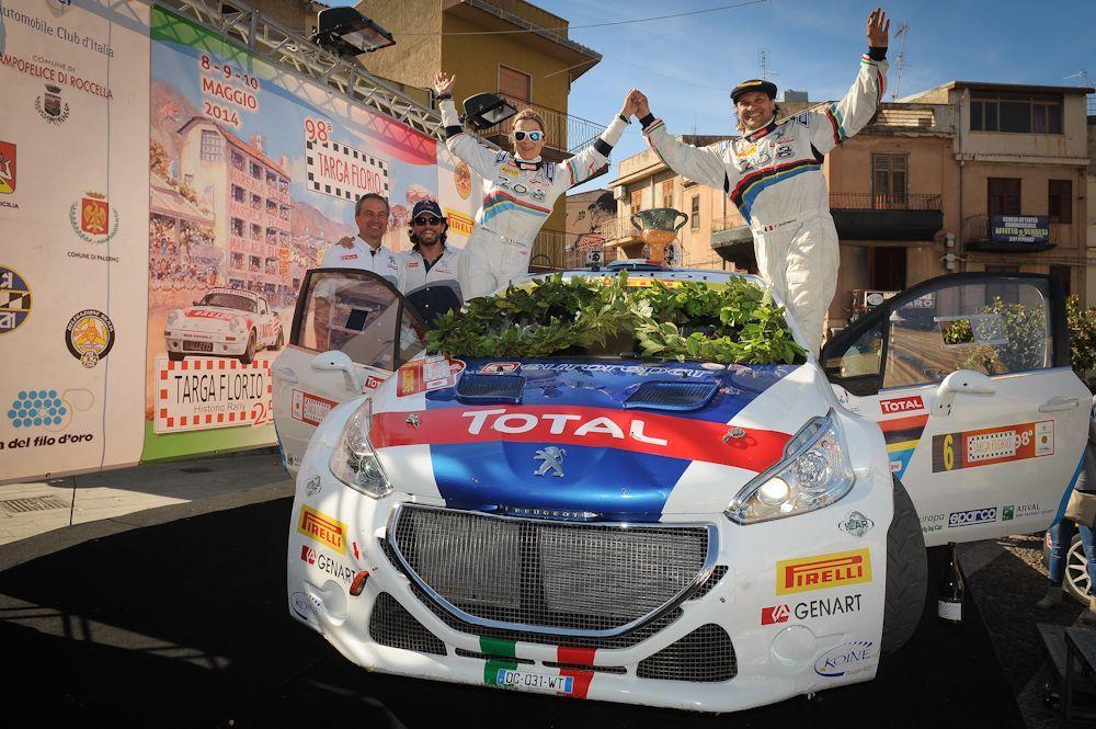 Targa Florio 2014: Peugeot vince con Andreucci