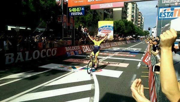 Giro d'Italia 2014, undicesima tappa: semi-fuga vincente di Rogers