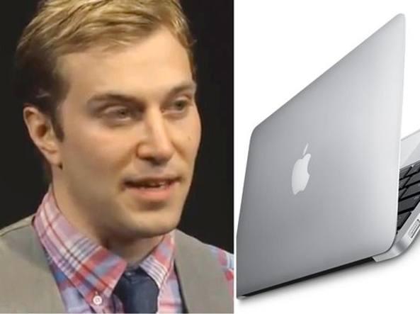 Uomo chiede di sposare il proprio Macbook