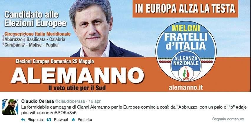Elezioni Europee 2014, se i veri manifesti elettorali fanno più ridere delle parodie