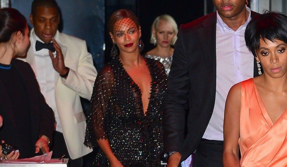 Beyonce, lite tra Jay-Z e Solange