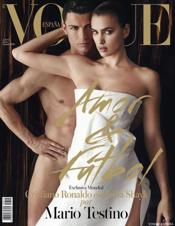 Cristiano Ronaldo Irina Shayk: Copertina Vogue Spagna