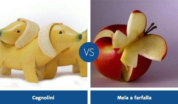 Decorazioni col cibo: vota la tua preferita