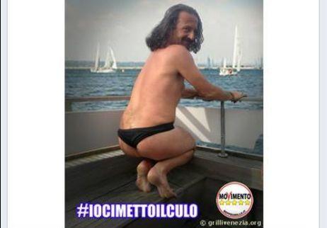 #iocimettoilculo: ironia del Movimento 5 Stelle contro il bikini di Paola Bacchiddu