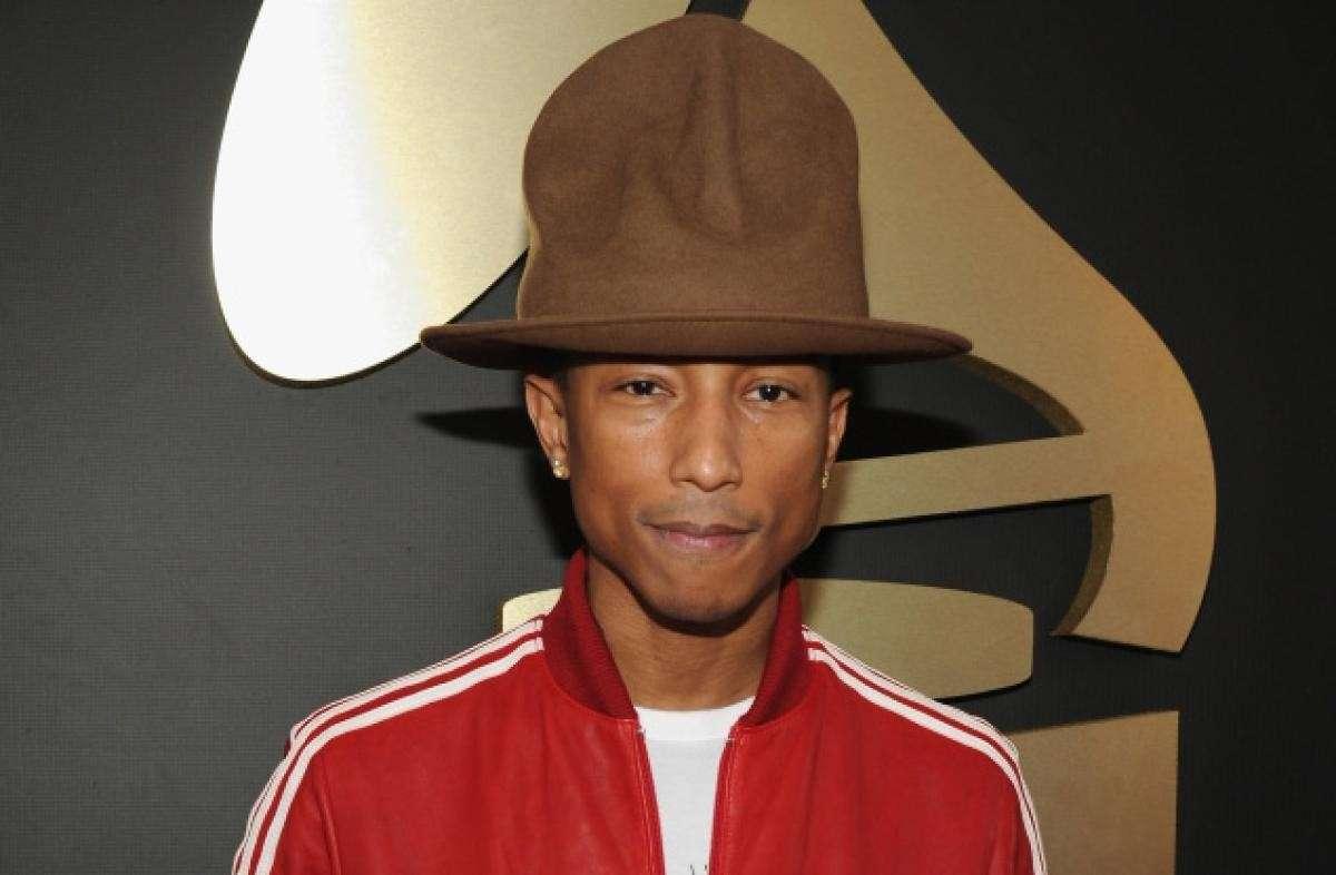Pharrell Williams Milano 2014