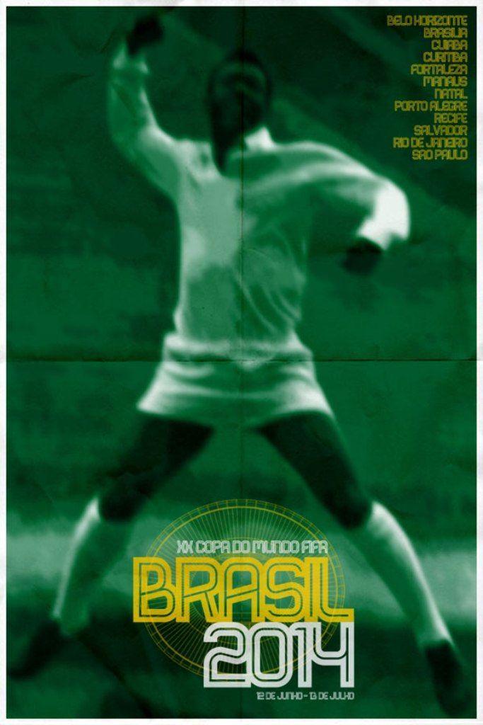 Mondiali di calcio: i poster delle venti edizioni