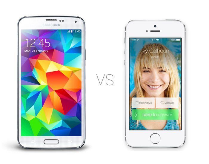 iPhone 5S vs Samsung Galaxy S5: confronto-scontro, qual è il migliore?