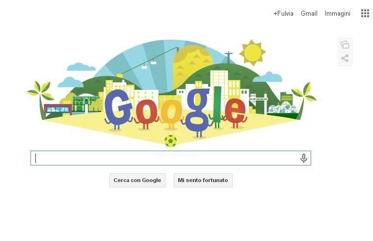 Mondiali 2014, Google doodle per la cerimonia di apertura