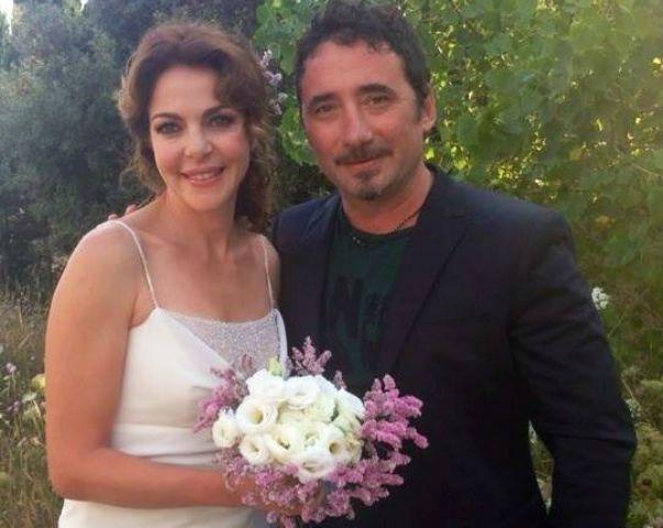 Claudia Gerini e Federico Zampaglione sposi? La foto del 'matrimonio' che spopola sul web