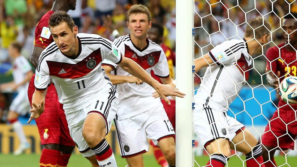 Mondiali 2014, Germania-Ghana 2-2: Klose salva la Germania