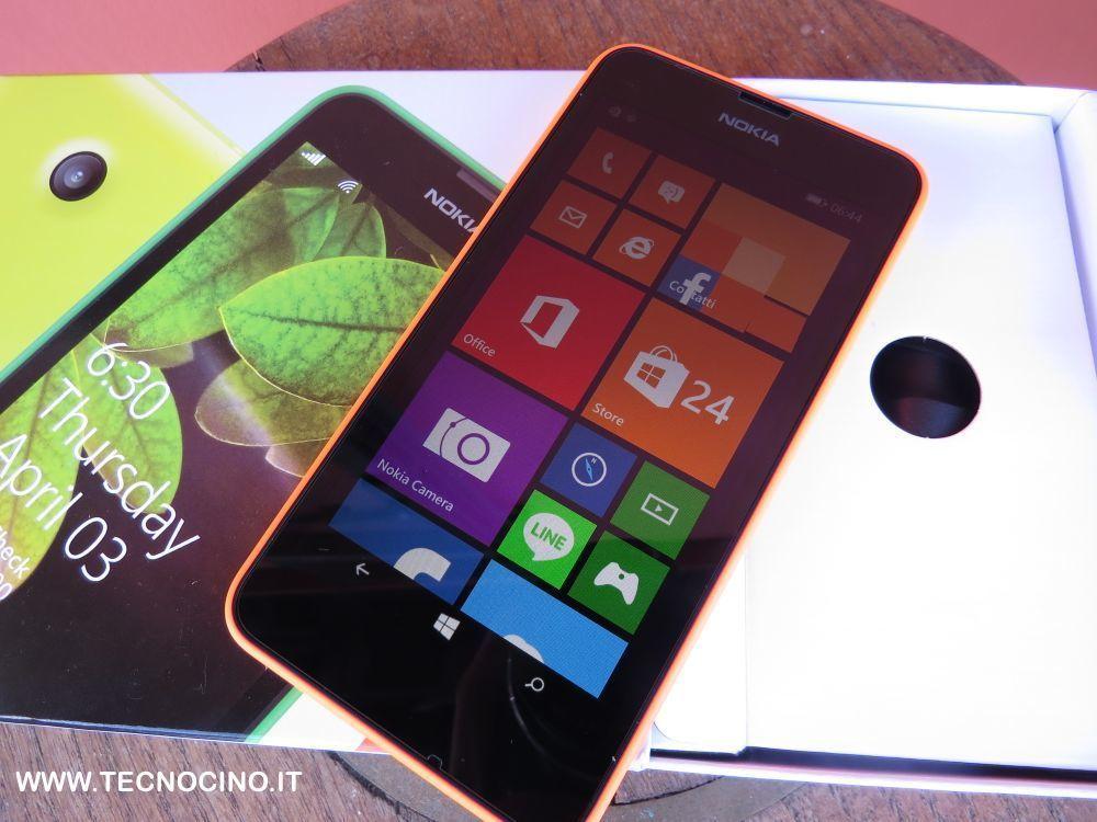 Nokia Lumia 630 il test del migliore smartphone low cost