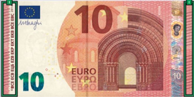 10 euro nuovi
