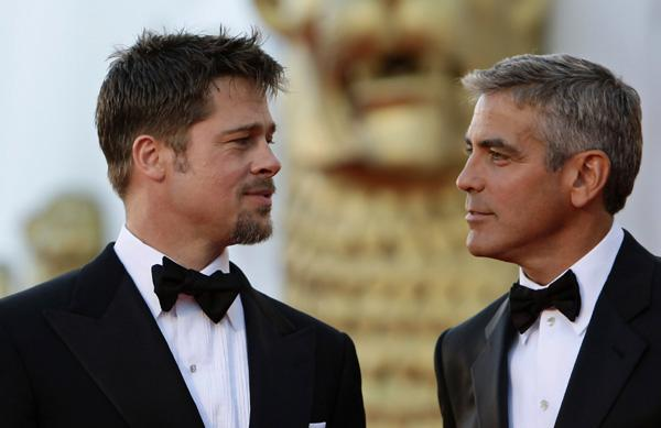 Brad Pitt testimone di nozze di George Clooney e Amal Alamuddin, in lizza anche Matt Demon