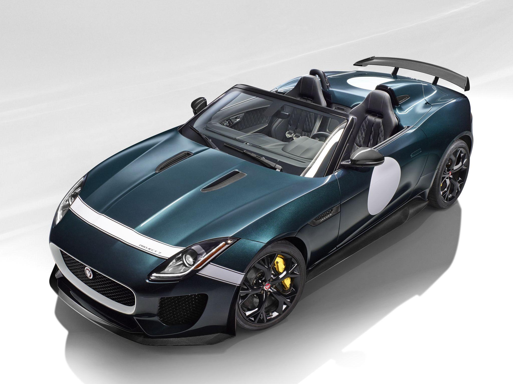 Jaguar F-Type Project 7: caratteristiche, motore e scheda tecnica