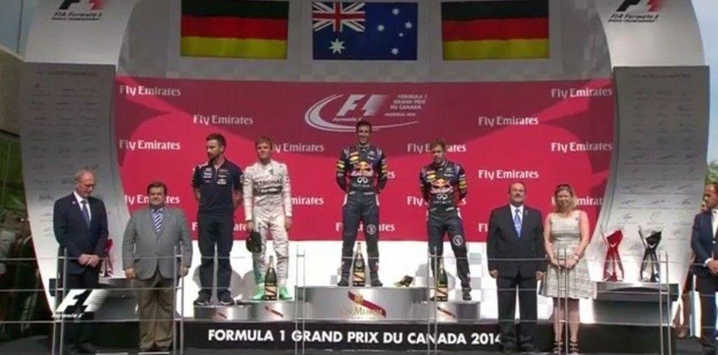Gp Canada F1 2014, gara: Ricciardo eroe nello spettacolo