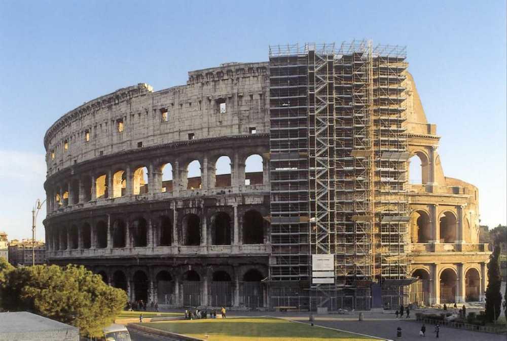 Colosseo: a Roma al via la seconda fase di restauro sponsorizzato dal gruppo Della Valle
