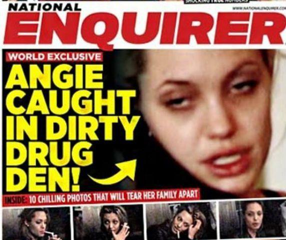 Angelina Jolie e la droga: il video shock dell'attrice ventenne e tossicodipendente