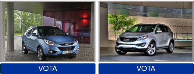 Vota la tua auto coreana preferita