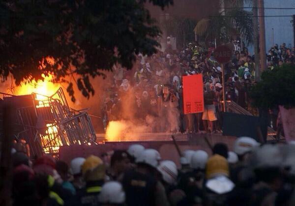 Brasile Germania 2014: si scatena l'inferno dopo la sconfitta allo stadio di Sao Paulo