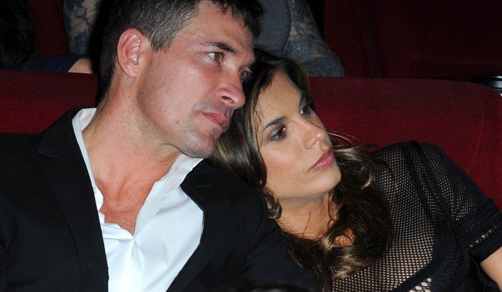 Brian Perri ed Elisabetta Canalis