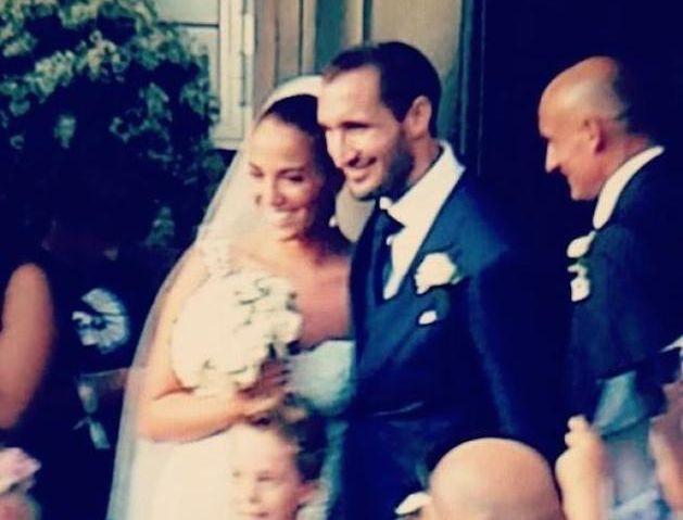 Giorgio Chiellini e Carolina Bonistalli sposi: celebrato il matrimonio del calciatore