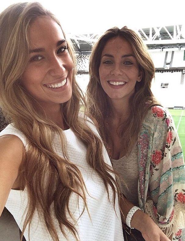 Maria Pombo e Marta Abril: ragazza e sorella di Morata
