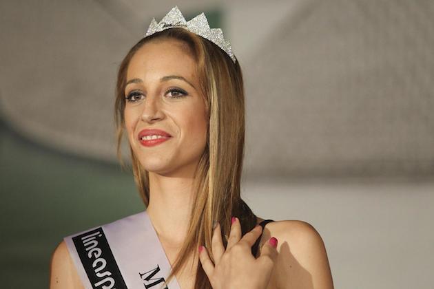 Rosaria Aprea a Miss Italia 2014: la modella picchiata dal fidanzato alle finali regionali