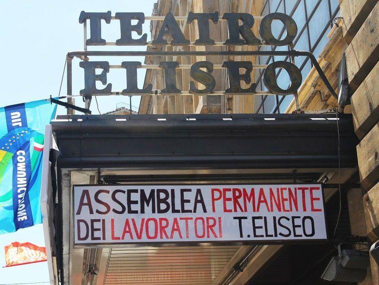 Il Teatro Eliseo di Roma chiude? Lo sfratto rinviato a settembre