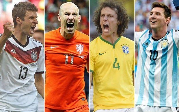 Mondiali Brasile 2014, semifinali: date, orari e tabellone