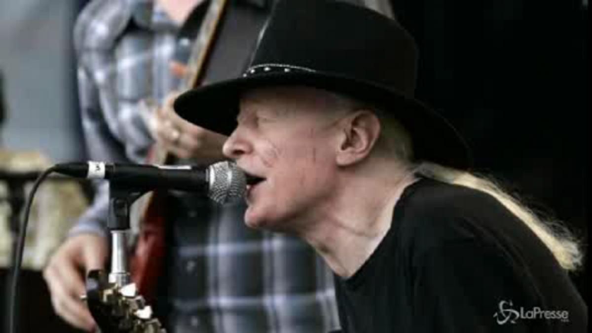 Morto Johnny Winter il leggendario bluesman albino
