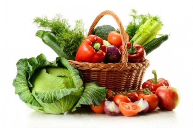 frutta e verdura in casa