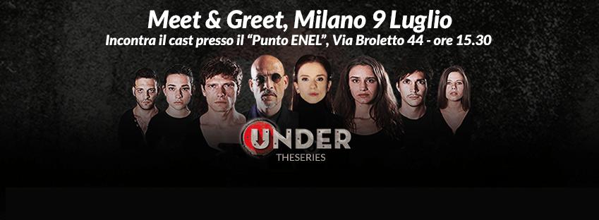 Meet&Greet di Under: fai una domanda e i protagonisti della serie ti risponderanno