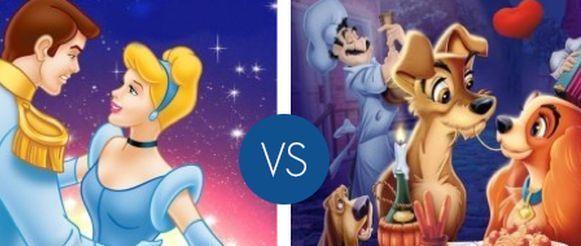 Coppie Disney più belle: vota la tua preferita