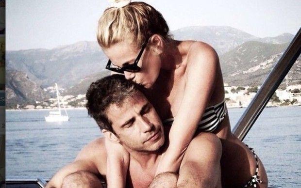 Alessia Marcuzzi e Paolo Calabresi Marconi: su Instagram le foto delle vacanze dei due fidanzati