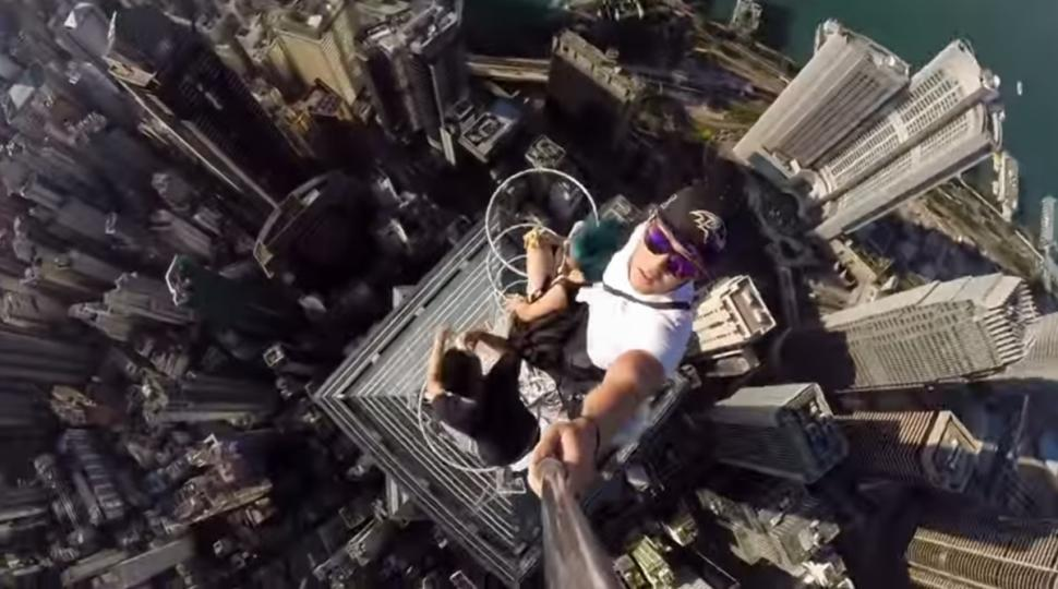 Il video selfie più terrificante di sempre
